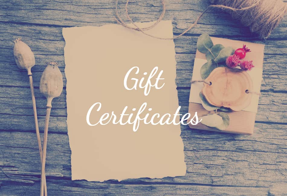 day spa gift certificates